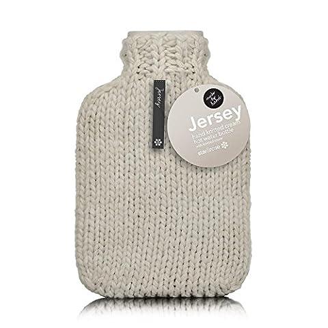 Jersey ML Étui à rabat à main en tricot 2l Bouteille d'eau chaude