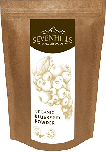 Sevenhills Wholefoods Heidelbeer-Pulver Bio 50g