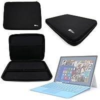 DURAGADGET Funda Rígida Negra Para Microsoft Surface Pro 4   Ideal Para Transportar Su Tableta - Alta Calidad