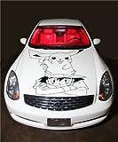 VSDecals Papier Peint Vinyle Autocollant Anime Pokémon hotte D1888