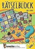Rätselblock ab 6 Jahre, Band 2: Kunterbunter Rätselspaß: Labyrinthe, Fehler finden, Suchbilder, Wörtergitter, Sudokus u.v.m. (Rätseln, knobeln, logisches Denken, Band 637) - Agnes Spiecker