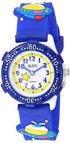 bling-jewelry-blue-spaceship-planet-kids-watch-stainless-steel-back-analog