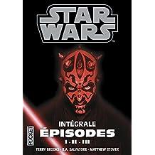 Star Wars, Intégrale prélogie Tomes 1 à 3 : La Menace fantôme ; L'Attaque des clones ; La Revanche des Sith