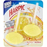 Harpic Rim Block Citrus Hygienic 2 x 40 g (Pack of Six)