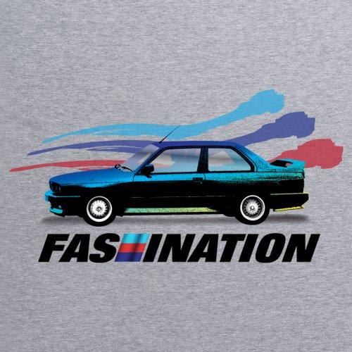 PistonHeads Fascination T-Shirt, Herren Grau Meliert