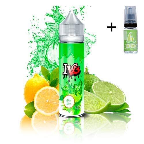 E Liquid IVG Classics Neon Lime 50ml - 70vg 30pg-