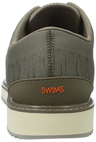 Swims Barry Oxford Knit, Chaussures à lacets homme Grün (Khaki Melange/ Gray)