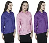 Vestire Women/Girls 3 Cotton Rayon Shirt...