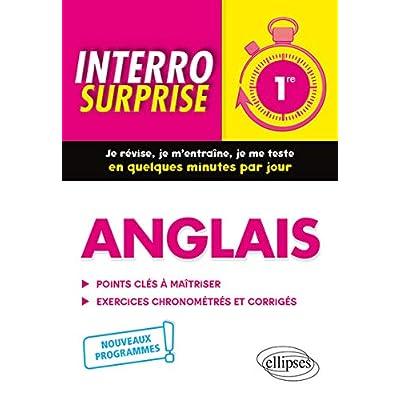 Anglais - Première - nouveaux programmes
