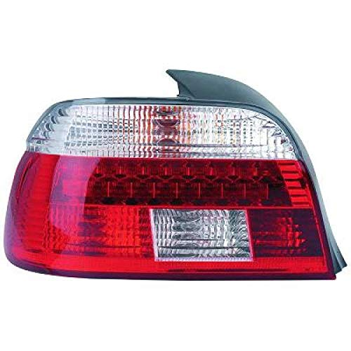 europetuning 13204 FEUX ROUGES FUMES NOIRS LOOK PHASE 2 SERIE 5 E39 BERLINE 1995-2000 PHASE 1