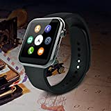 JIKRA Heart rate monitor Smartwatch    Health Bluetooth Smart watch   smart calling watch with all functions of smartphones compatible with All Somartphone and Bluetooth mobile Devices 2017 Buy Now LIMITED STOCK and OFFER
