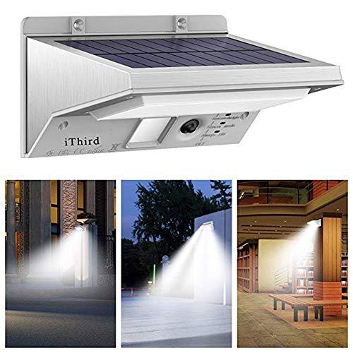 Solarlicht-Bewegungs-Sensor im Freien, LED-angetriebener Sicherheits-Solarlicht-Edelstahl für die