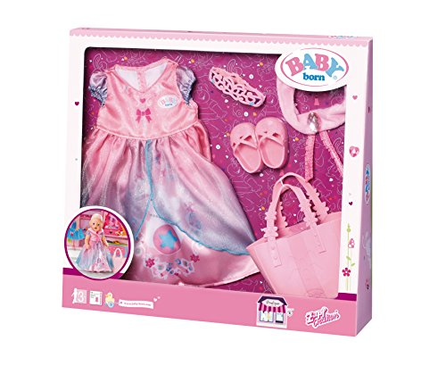 "Zapf Creation 824801"" Baby Born Boutique Deluxe Shopping Prinzessin Puppe, bunt"