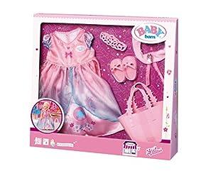 Zapf Baby Born Boutique Deluxe Shopping Princess Juego de ropita para muñeca - Accesorios para muñecas (Juego de ropita para muñeca, 3 año(s), Multicolor, Niño, Chica, 43 cm)