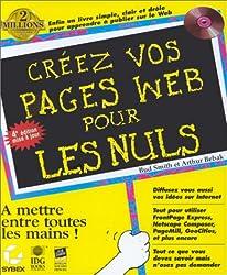 CREEZ VOS PAGES WEB POUR LES NULS. 4ème édition, avec CD-Rom