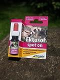 Schopf 310112 Ektosol Tropfen, Parasitenbekämpfung für Katzen, 10 ml