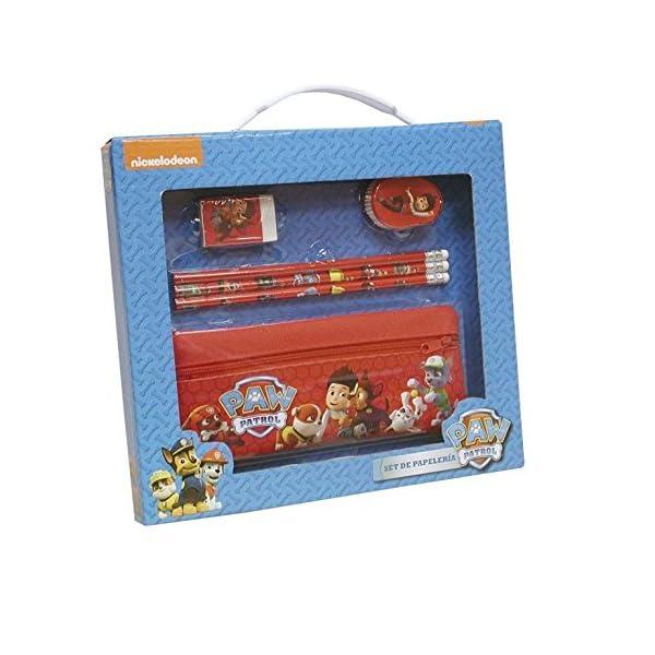PAW PATROL Set de papelería con portatodo en Caja Patrulla Canina (2/40)