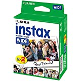 Fujifilm Instax Wide Instant Film 10Sheets X Twin Pack