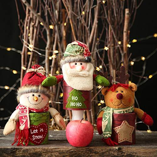 vijTIAN - Scatola di Caramelle per Feste, Decorazioni per la casa, per Le Vacanze, per Natale, può Contenere Regali Come Caramelle e può Essere utilizzato Come Regalo per familiari e Amici A