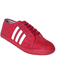 Come Shoe Men's Sneaker, Casual Lace Up For Men With Red/Brown/Black/Blue Color With Size(6-10)