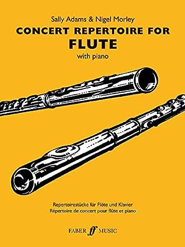 Concert Repertoire: (flute and Piano) (Flute Piano)