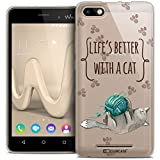 Caseink - Coque Housse Etui pour Wiko Lenny 3 [Crystal Gel HD Collection Quote Design...