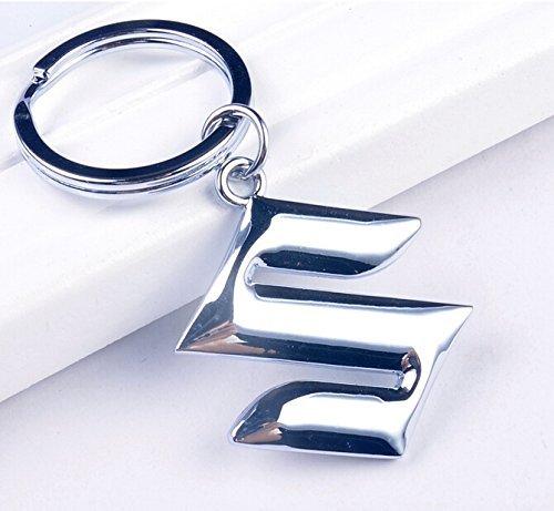 3d-finition-metal-voiture-porte-cle-anneau-avec-logo-suzuki