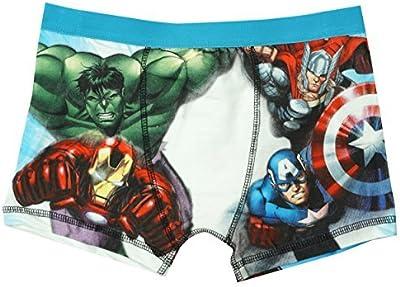 Niño Marvel Avengers Hulk Thor Ironman Bañador Ajuste Estilo De Boxeador Braguitas tallas desde 4 a 10 años