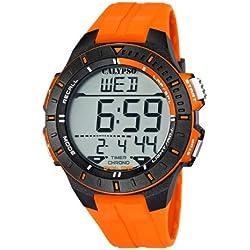 Calypso Herrenarmbanduhr Quarzuhr Kunststoffuhr mit Polyurethanband Alarm-Chronograph digital alle Modelle K5607