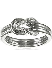 Swarovski anillos Mujer metal común vidrio