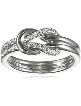Swarovski Damen-Ring rhodiniert Glas transparent - 5007774