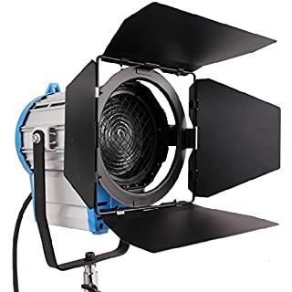 HWASTUDIO ® Professional Fresnel Tungsten Video Continuous Lighting as ARRI Pro Video spot light with DIMMER BUILT IN 2000W