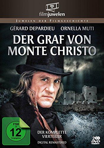 Der Graf von Monte Christo (1-4) - Der komplette Vierteiler (Fernsehjuwelen) [2 DVDs] (Willy Mann Kostüm)