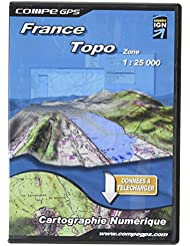 Twonav–Francia Mapas–Escala 1: 25, color - Uni