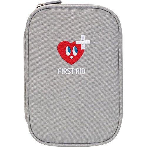 Erste Hilfe Set,Lifesport Verbandkasten Erste-Hilfe-Koffer First Aid Kit Notfalltasche Medizinisch Tasche Oxford Tuch Medicine Pouch für Haus Auto Camping Jagd Reisen Natur und Sport (Kaltgrau)