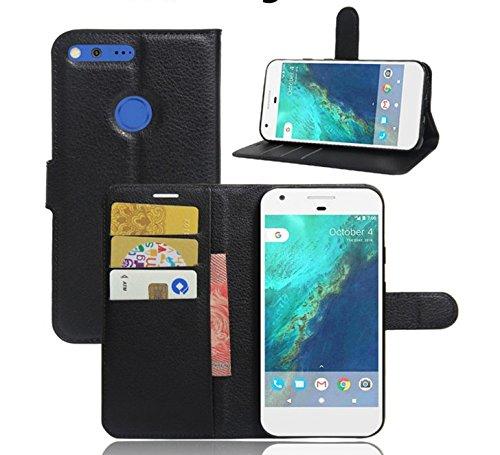 ELTD Google Pixel XL Case, Flip Cover Case / Hülle / Tasche/ Schutzhülle Für Google Pixel XL 5.5 Zoll, Schwarz