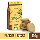 TasteGood Karela Biscuits – High Fiber, Tasty & Healthy Sugar Free Snacks, 400g – Pack of 4