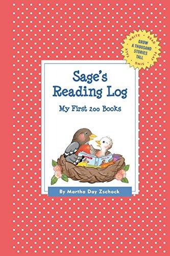 Sage's Reading Log: My First 200 Books (Gatst) (Grow a Thousand Stories Tall)