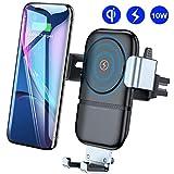 VANMASS Handyhalterung Auto Wireless Charger Auto Lüftung Kfz Handy Halterung 10W Qi Induktive Ladestation fürs Auto Automatisch für iPhone XS MAX/X iPhone 8/8P Galaxy S9/S8/S10 und andere Qi Geräte
