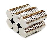 Yizhet 50 stuks magneet supermagneten huishoudmagneten 10x2 mm mini magneet voor magneetbord, whiteboard, bord, prikbord, koe