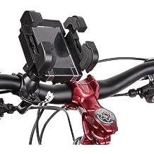 FUNNYGSM–Soporte de bicicleta giratorio 360° inclinable para Sony Ericsson Z310
