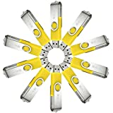 10Pcs 4GB 4G USB 2.0 Flash Drive Memory Stick Fold Storage Thumb Stick Pen Swivel Design Yellow