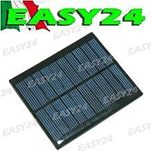 Mini célula solar panel solar fotovoltaico 2V 45mA celdas cellette pannellino