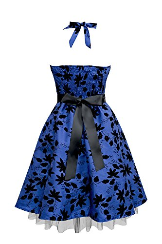 Maisy' Satin Essence Rockabilly-Kleid - 2