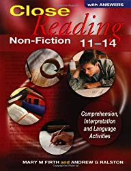 Close Reading Non-Fiction 11-14 With Answers