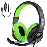 BlueFire Gaming Headset Kids with Microphone, 3.5mm Wired Comfortable Bass Stereo Volume Control