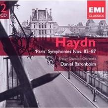 """Haydn : Symphonies """"Parisiennes"""" n° 82 à  n° 87"""