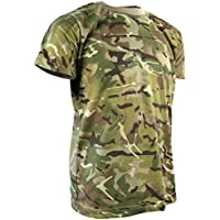 Kombat UK Camiseta de camuflaje de los niños, Infantil, color British Terrain Pattern, tamaño 9-11 Years