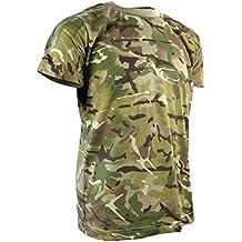 Kombat UK–Camiseta de camuflaje de los niños, Infantil, color British Terrain Pattern, tamaño 9 - 11 Years