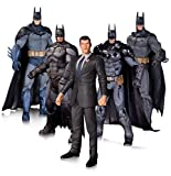 DC Comics Giocattolo da Collezione, Batman Arkham Collezionisti 17,8cm Action Figure 5Pack